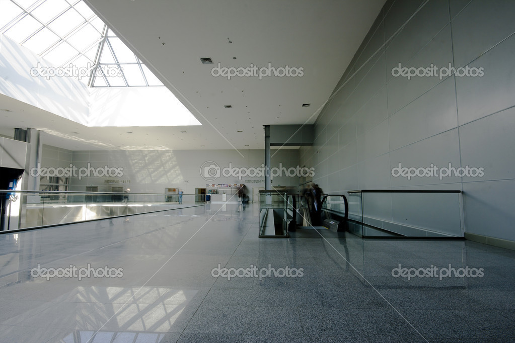 Modern business center hall interior photo — Stock Photo #2565610