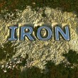 Iron — Stock Photo