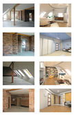 Interieur project — Stockfoto