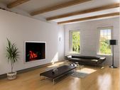 Living room interior — Stock Photo