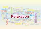 Relaxation — Stock Vector