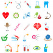 Colored medical icon - Stock Vector