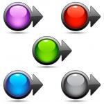 Button pointer — Stock Vector #2557458
