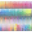 Print colours set by ten percent — Stock Photo #2580047