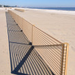 Beach Erosion Control — Stock Photo