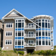 Stock Photo: Beach Condos