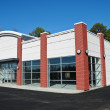 New Modern Commercial Building — Stock Photo