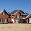 A Beautiful New Custom Built House - Stock Photo