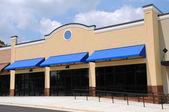 New Strip Mall — Stock Photo