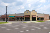 New Strip Mall — Stock Photo