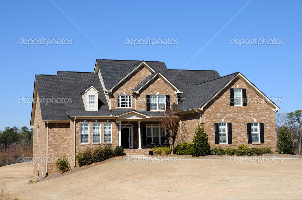 Large New Luxury Home  Stock Photo #2560837
