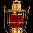 Stock Photo: Brass Lantern