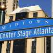 Center Stage Atlanta — Stockfoto
