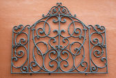 Abstract Wrought Iron — Stock Photo