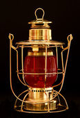 Brass Lantern — Stock Photo