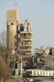 Cement Processing Plant — Stock Photo