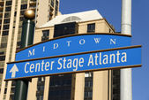 Center Stage Atlanta — Stock Photo