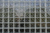 Wall of Glass Blocks — Stock Photo