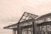 Steel Framing — Stock Photo