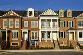 Luxury Townhomes — Stock Photo