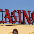 Casino Sign — Stock Photo