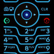 Cell Phone Keypad — Photo