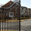 Stock Photo: Gated Community