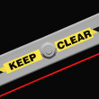 Keep Clear — Stock Photo