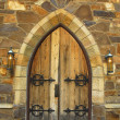Medieval Doorway — Stock Photo