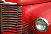 Grill camion antique — Photo