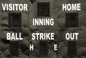 Baseball Scoreboard — Stock Photo