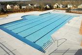 Country club piscine — Photo