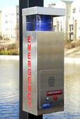 Emergency Call Box — Stock Photo