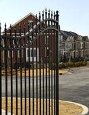 Gated Community — Stock Photo
