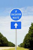 Hurricane Evacuation Route — Stock Photo