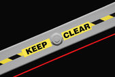 Keep Clear — Foto Stock