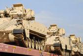 Military Tank Shipment — Stock Photo