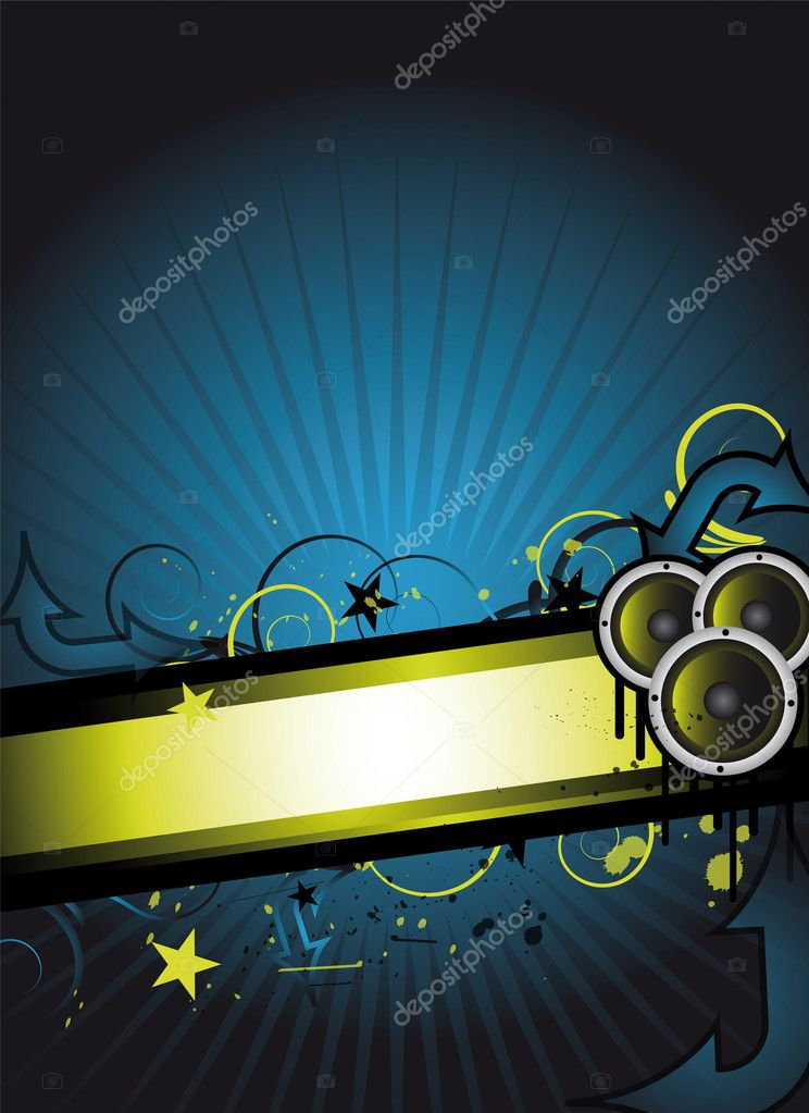 Abstract party / event background for design — Stock Vector #2515909