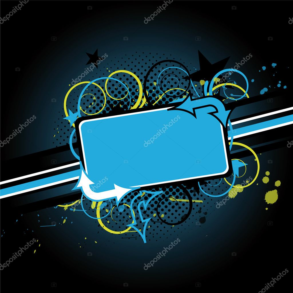 Abstract colorful background with grunge style — Stock Vector #2598761