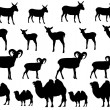 Animal collection — Vector de stock