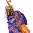 Stock Photo: Indian music instruments
