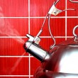 Boiling Kettle — Stock Photo