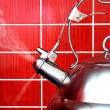 Stock Photo: Boiling Kettle
