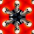 Stock Photo: Skull Tile