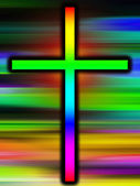 Colour Holy Cross — Stock Photo