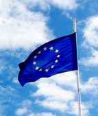 European Union Flag — Stock Photo