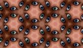 Eye Tile Pattern — Stock Photo