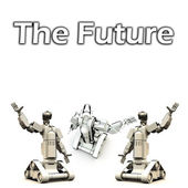 The Future Of Robotics — Stock Photo