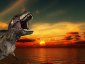 T Rex Sunrise — Stock Photo