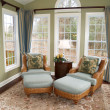 Stock Photo: Bright Sunroom
